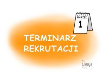 TERMINARZ REKRUTACJI1